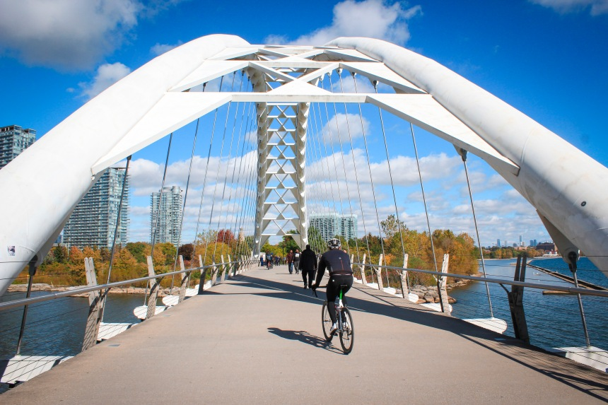 11. Humber Bay Arch Bridge