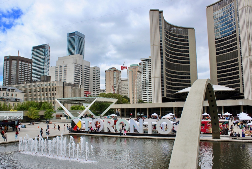 5. Nathan Phillips Square